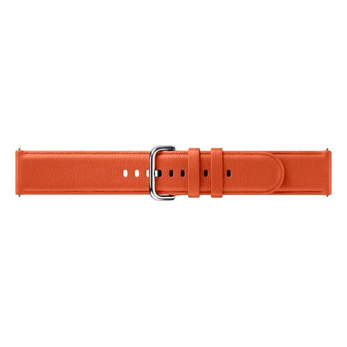 Leather Band for Galaxy Watch Active2, Orange