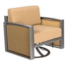 See Details - Metropolis Gliding Swivel Lounge Chair