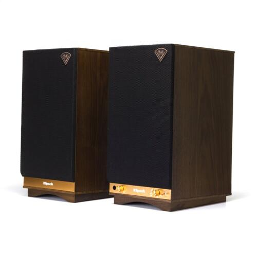 The Sixes POWERED SPEAKERS - Walnut