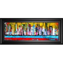 """""""Skyline"""" By Erin Ashley Framed Print Wall Art"""