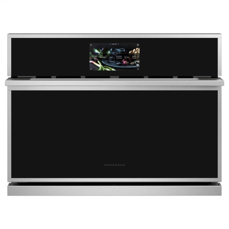 """Monogram 27"""" Smart Five in One Wall Oven with 120V Advantium® Technology"""