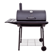 LARGE CHARCOAL BARREL GRILL