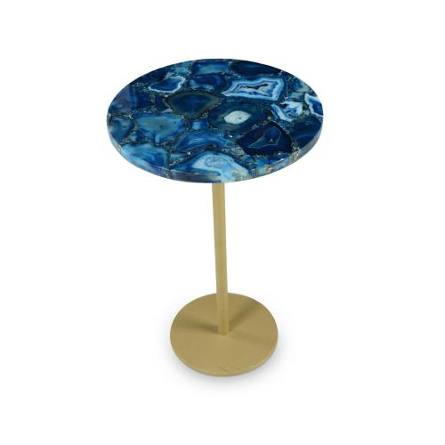 Oceana Agate Top Side Table
