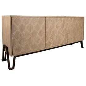 Buffet, Available in Modern Grey Finish Only.