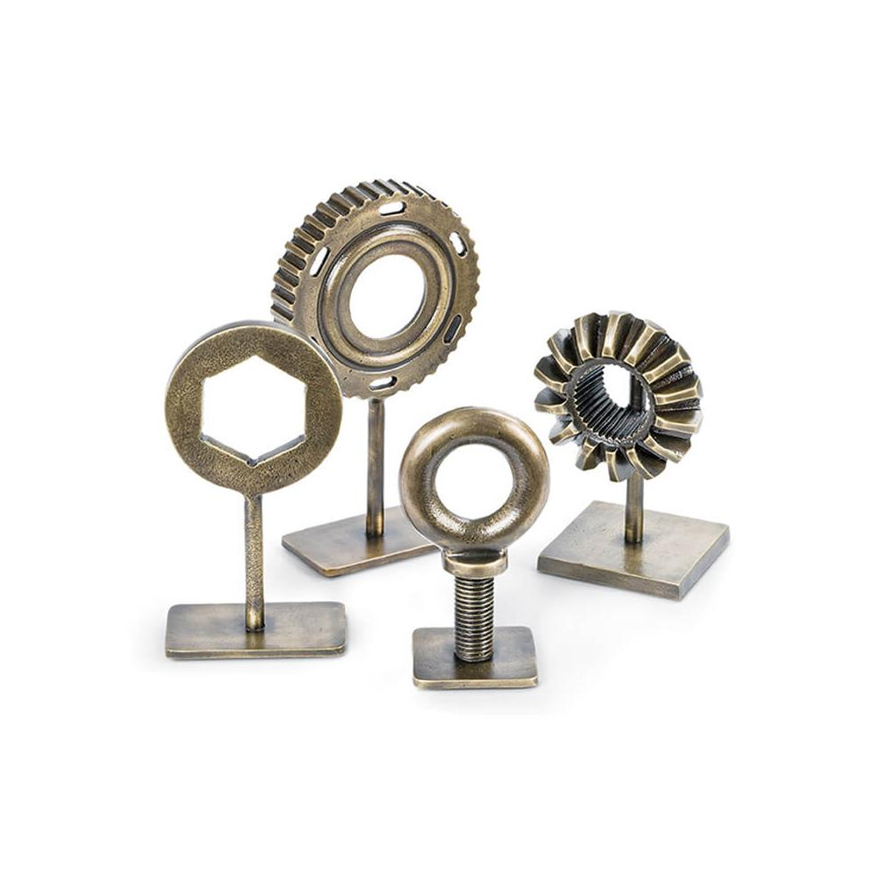 See Details - Mechanical Pieces In Brass (set of 4)