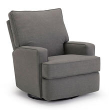 Kersey Medium Swival Glider Recliner in Charcoal       (5NI45-22933,39812)