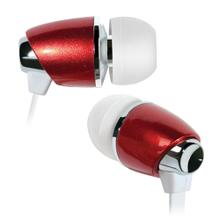 See Details - Red in-ear stereo headphones by Bell'O Digital