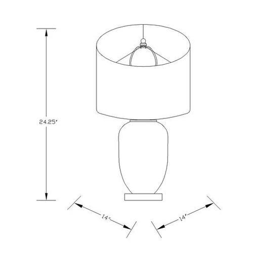 """Oliver OLI-101 25""""H x 14""""W x 14""""D"""