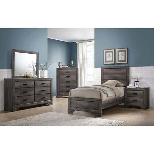Nathan Youth Twin Panel Bed