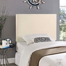 View Product - Region Twin Upholstered Fabric Headboard in Ivory