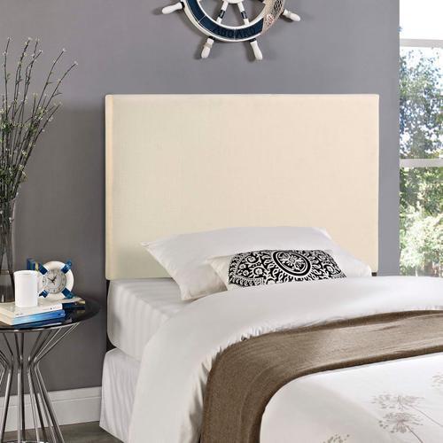 Modway - Region Twin Upholstered Fabric Headboard in Ivory