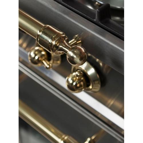 24 Inch Stainless Steel Dual Fuel Liquid Propane Freestanding Range