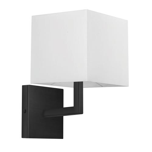 1lt Wall Sconce, Mb W/ Wk Shade