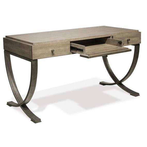 Riverside - Sophie - Writing Desk - Natural Finish