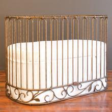 View Product - Jadore Crib-cradle Vintage Gold