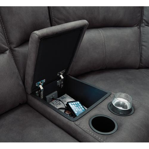 Flexsteel - Nirvana Power Reclining Sectional with Power Headrests