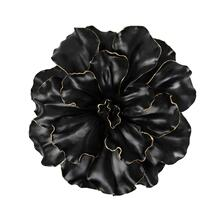 Black/gold Wall Flower, 15.5""