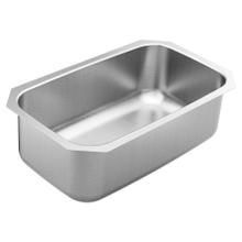 """1800 Series 30""""x18-1/2"""" stainless steel 18 gauge single bowl sink"""