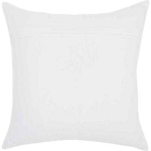 "Trendy, Hip, New-age Jb269 White 18"" X 18"" Throw Pillow"
