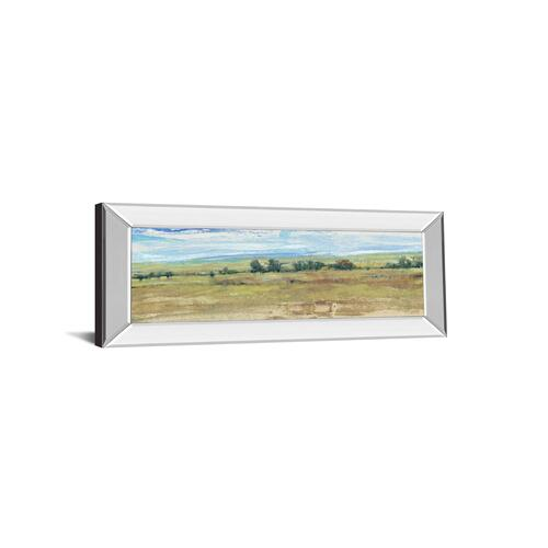 "Classy Art - ""Distant Treeline Panel I"" By Tim Otoole Mirror Framed Print Wall Art"