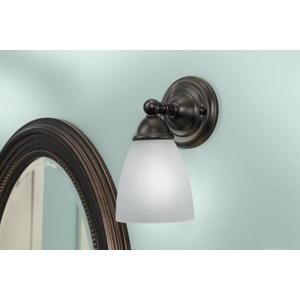 Brantford oil rubbed bronze bath light