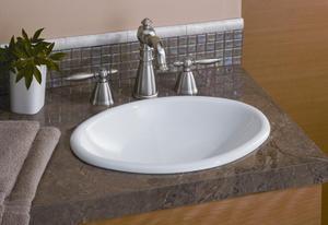 Mini Oval Bathroom Sink Product Image