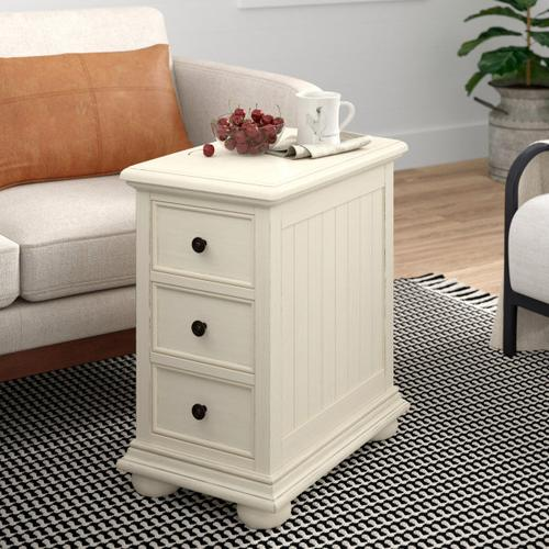Accentrics Home - Coastal Chairside Chest