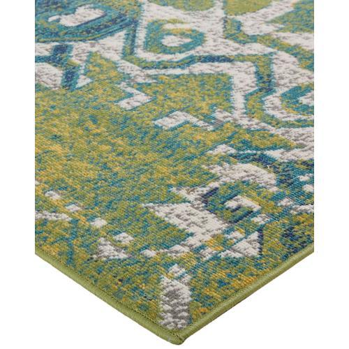 Feizy - FOSTER 3758F IN GREEN-BEIGE