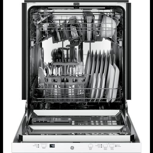 "GE® 24"" Built-In Dishwasher White - GDT225SGLWW"