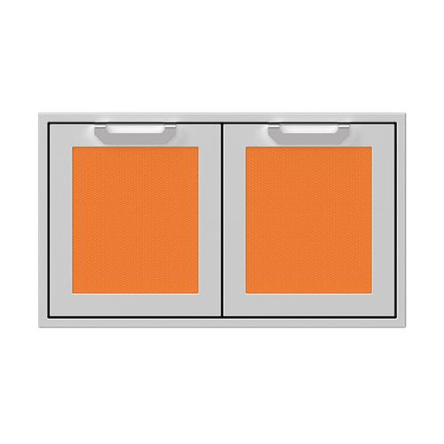 """Product Image - 36"""" Hestan Outdoor Double Access Doors - AGAD Series - Citra"""