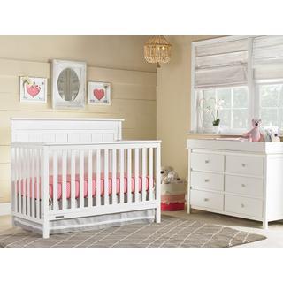 Fisher-Price Clayton Convertible Crib, Snow White