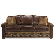 Remington Open Sofa - Apache - Apache (loveseat)