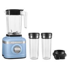 See Details - K150 3 Speed Ice Crushing Blender with 2 Personal Blender Jars - Blue Velvet