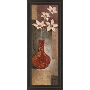 """""""Baroque Floral I"""" By Rosie Abrahams Framed Print Wall Art"""