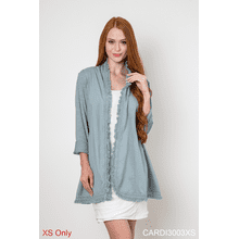 Binge on Fringe Cardigan - XS (3 pc. ppk.)