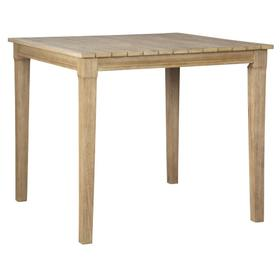 Clare View Square Bar Table Beige
