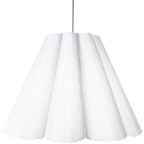 Product Image - 4lt Kendra Pendant Milano Wht, Larg Polished Chrome