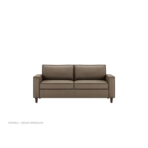 Mitchell Contemporary Sleeper Sofa - American Leather