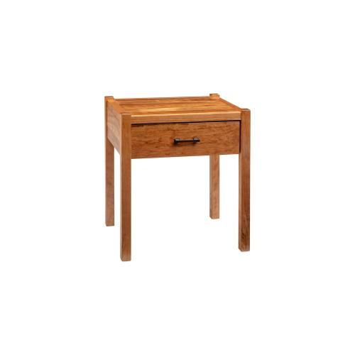 Green Gables Furniture - Fullerton 1 Drawer Nightstand - Honey