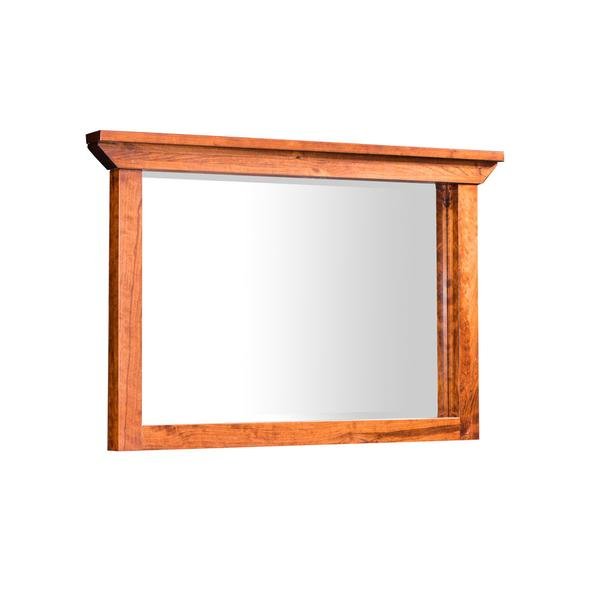 B&O Railroade Trestle Bridge Mule Chest Mirror