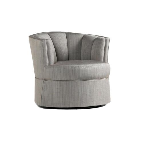 Jude Swivel Chair w/ Skirt