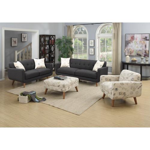 Emerald Home Remix Accent Chair Print U3789m-02-15