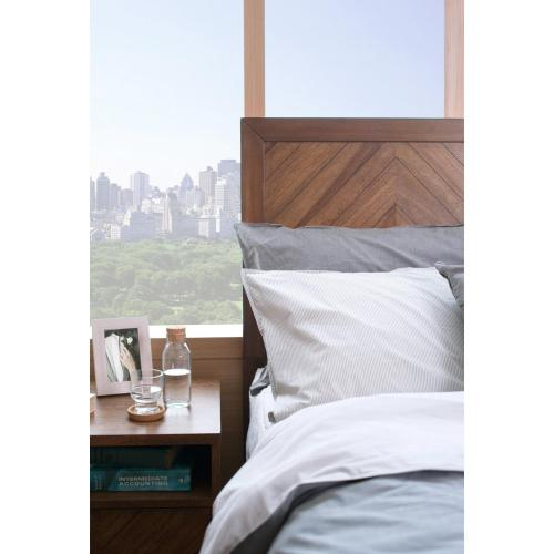 Piero KD Chevron Queen Headboard, Monterey