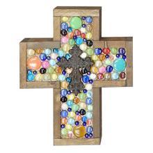 Small Multi Jeweled Cross