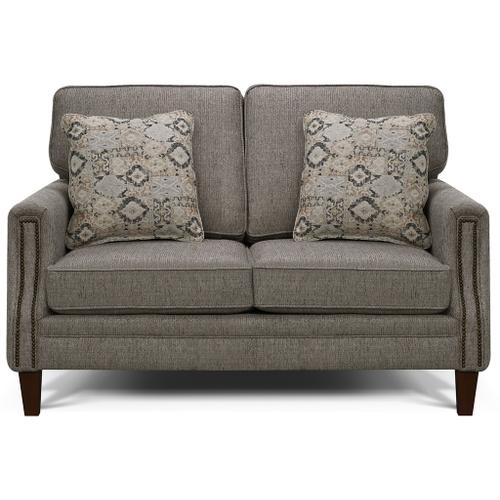 - 2506N Oliver Loveseat with Nails