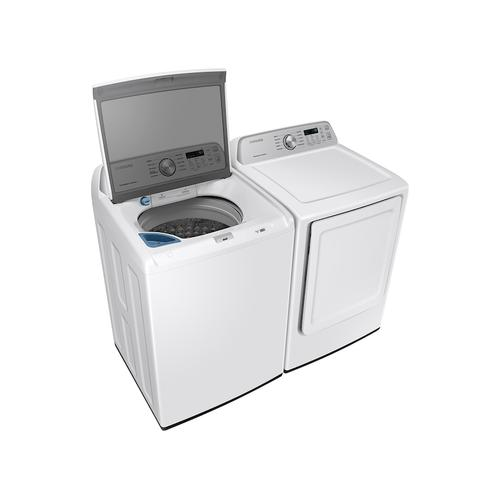7.4 cu. ft. Electric Dryer with Sensor Dry in White