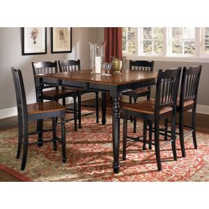 """A America - Counter Height Table W/1-18"""" Leaf"""