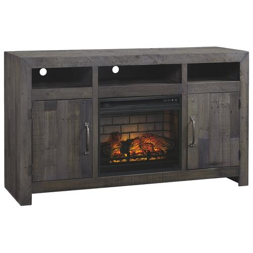 "Mayflyn 62"" TV Stand With Electric Fireplace"