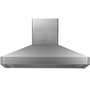 """48"""" Chimney Wall Hood, Silver Stainless Steel Product Image"""
