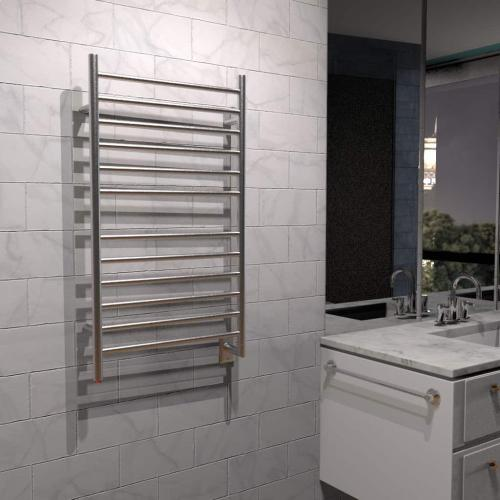 The Radiant LARGE HARDWIRED STRAIGHT - Polished Stainless